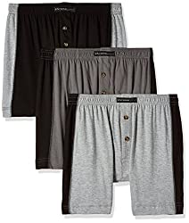 Chromozome Men's Cotton Trunk (Pack of 3) (8902733344425_PR 04_Large_Grey, Black and Pewter)