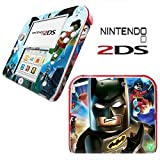 LEGO BATMAN Vinyl Skin Sticker For Nintendo 2DS Console Vinyl Skin Cover In A Retail Pack. Ready For Fast 1st Class UK Post.
