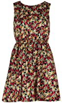 AX Paris Shirred Waist Floral Dress