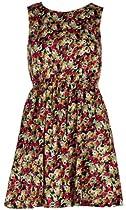 AX Paris Shirred Waist Floral Dress