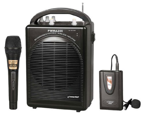 Pyle-Pro Pwma200 Wireless Microphone System