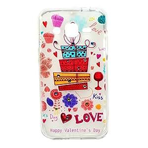 Samsung Galaxy J2 New Designer Soft silicon (Transparent) Back Case cover