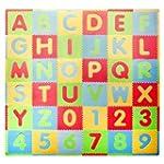 Tadpoles Playmat Set 36-Piece ABC, Mu...