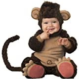 InCharacter Infant Monkey Costume, Brown Tan, 6-12 Months
