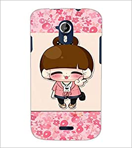 PrintDhaba Cartoon D-4722 Back Case Cover for MICROMAX A116 CANVAS HD (Multi-Coloured)