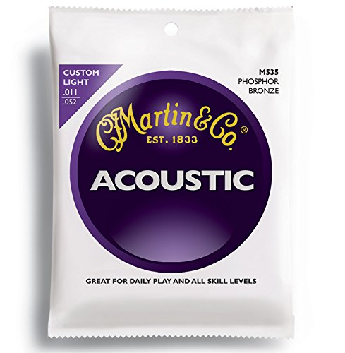 Martin M535 Traditional Phosphor Bronze Custom Light Acousti