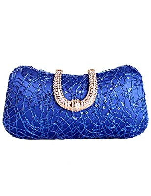 Tom Clovers Summer New Women's Glamour Rhinestone Hard Case Evening Wedding Party Clutch Purse Wallet