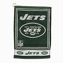 New York Jets Jaquard Golf Towel