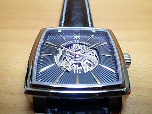レビュートーメン 腕時計 REVUE THOMMEN マニュファクチュール カレ・カンブレ・スケルトン メンズサイズ 1230.2537 自動巻