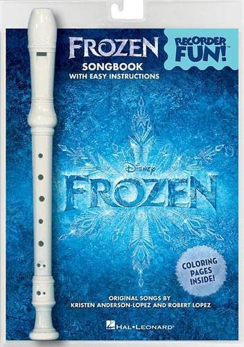 Download Frozen - Recorder Fun!: Pack with Songbook and Instrument