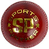 SP Sports Panther Match Unisex Leather Balls Standard Red