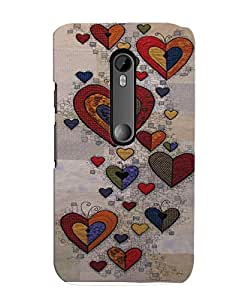 Citydreamz Back Cover for Motorola Moto X Play