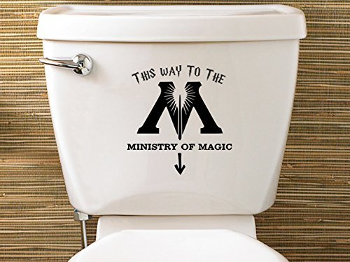 Ispirato a Harry Potter-Adesivo Ministry Of Magic