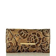 Soft Checkbook Wallet<br>Bronze Gatsby