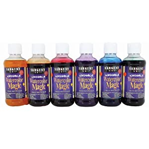 Sargent Art 22-6006 6-Count 8-Ounce Watercolor Magic Set