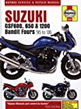 Suzuki GSF600, 650 and 1200 Bandit Service and Repair Manual: 1995 to 2006 (Haynes Service and Repair Manuals)