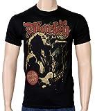 Coole-Fun-T-Shirts T-Shirt Bob Marley - 1977 Reagae Exodus Tour, schwarz, S, FT144