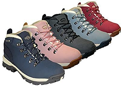 Ladies Trek Leather Lightweight Waterproof, Walking/hiking/trekking Boot.