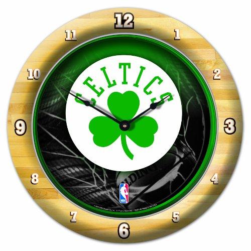 NBA Boston Celtics Game Time Clock