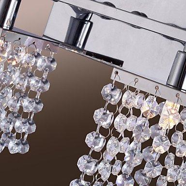 25W G9 cristal et mšŠtal Applique š€ 2 lumiššres