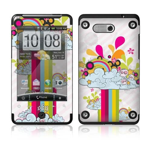 Rainbow In The Sky Protective Skin Cover Decal Sticker for HTC Aria Cell Phone