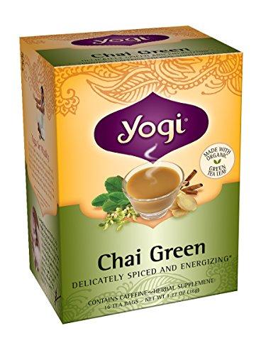 Yogi Chai Green Tea, 16 Tea Bags (Pack Of 6)