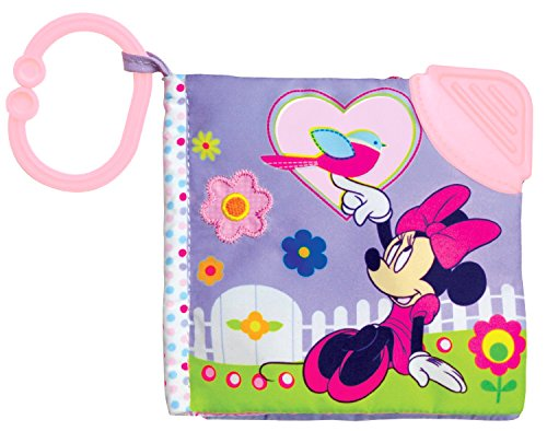 Disney Minnie Mouse Soft Book - Encourages Roleplay, Creativity, and Imagination - Safe and Asthma Friendly - 1