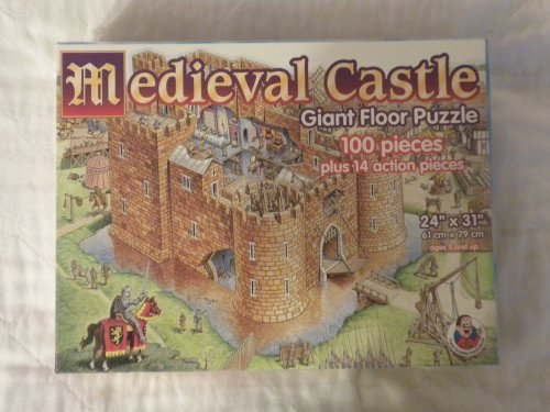 Cheap Frank Schaffer Medieval Castle: Giant Floor Puzzle (B0035YL502)