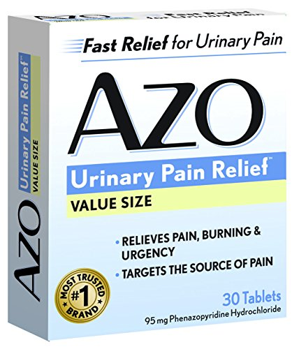 AZO Standard Urinary Pain Relief Tablets, 30 Count