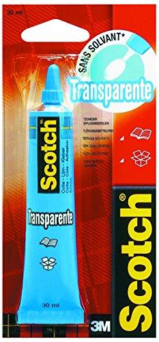 3M 56731 Colla Scotch per Uso Domestico Priva di Solventi, Tubetto da 30 ml, Trasparente