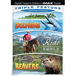 Amazing Animals Triple Feature (Ride Around the World / Beavers / Dolphins)(IMAX)