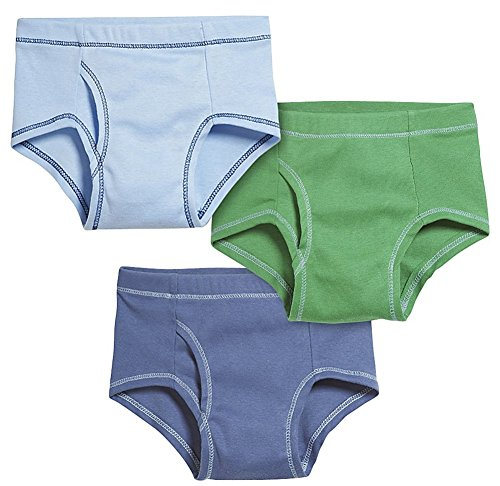 City Threads Baby Boys' Briefs 3-Pack - Fun Boy -18-24