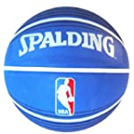 Spalding NBA Blue Outdoor Basketball,...