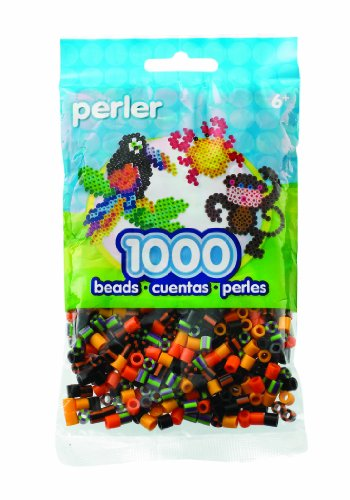 Perler Beads Pumpkin Patch Mix Bead Bag - 1