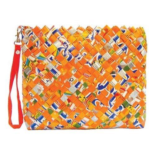 Rebagz Clutch & Cosmetic Bag - Orange