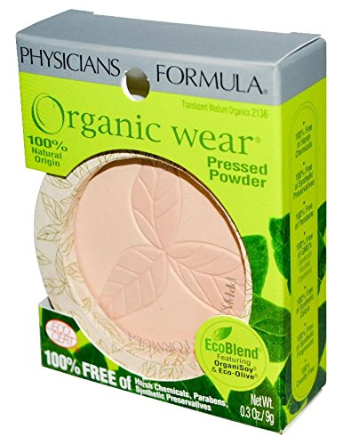 Physicians Formula Organic Wear 100% Natural Pressed ...