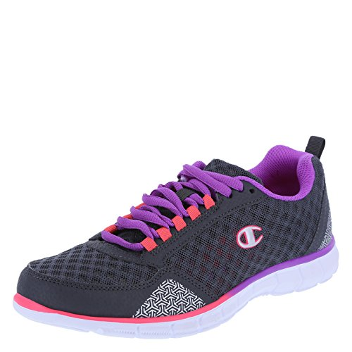 Champion Women's Grey/Coral Anomaly Runner 9 M (Champion Womens Footwear compare prices)