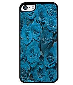 PrintVisa Metal Printed Rose Designer Back Case Cover for Apple iPhone 5C-D5098