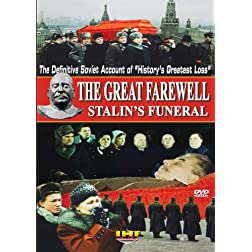 The Great Farewell (Stalins' Funeral): The Restored Soviet Documentary DVD