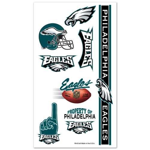 Philadelphia Eagles Temporary Tattoos by S.S. Inc - 1