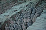 chinese buried under TERRACOTTA WARRIORS AND HORSES vintage poster 24X36 NEW