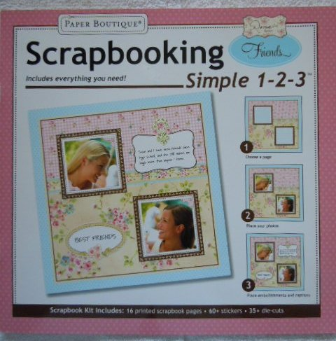 Dena Designs Scrapbooking Simple 1-2-3 Friends