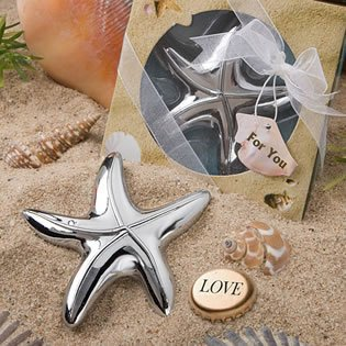 Starfish Design Bottle Opener Wedding Favors, 48 (Beach Theme Bottle Opener compare prices)
