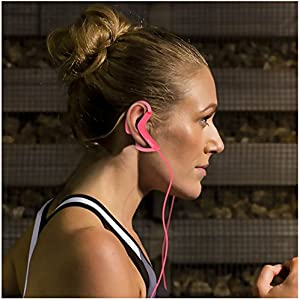 Sony MDR-AS210 Sports In-Ear Splashproof Headphones -Pink