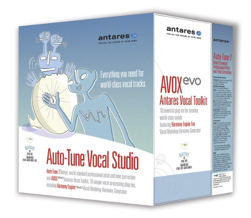 Antares Audio Auto-Tune Vocal Studio 7 Native