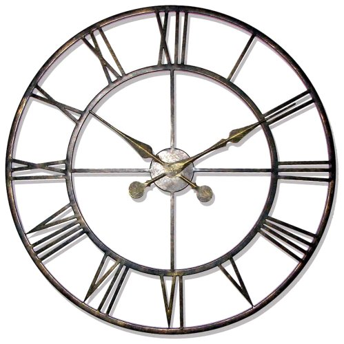 Infinity Instruments The Iron Tower Wall Clock
