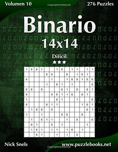 Binario 14x14 - Difícil - Volumen 10 - 276 Puzzles: Volume 10