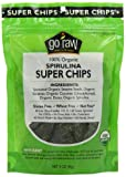 Go Raw Freeland Super Chips, Spirulina, 3-Ounce Bags (Pack of 6)