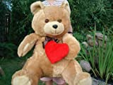 Big brown giant teedy bear 90-100cm great for prese