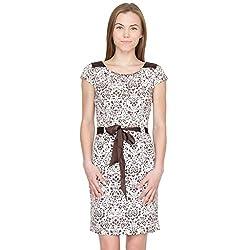 Species Women's A-Line Dress (S-833_Brown_X-Large)